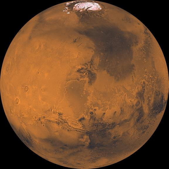 PIA00407_modest_NASA_ global color view of mars